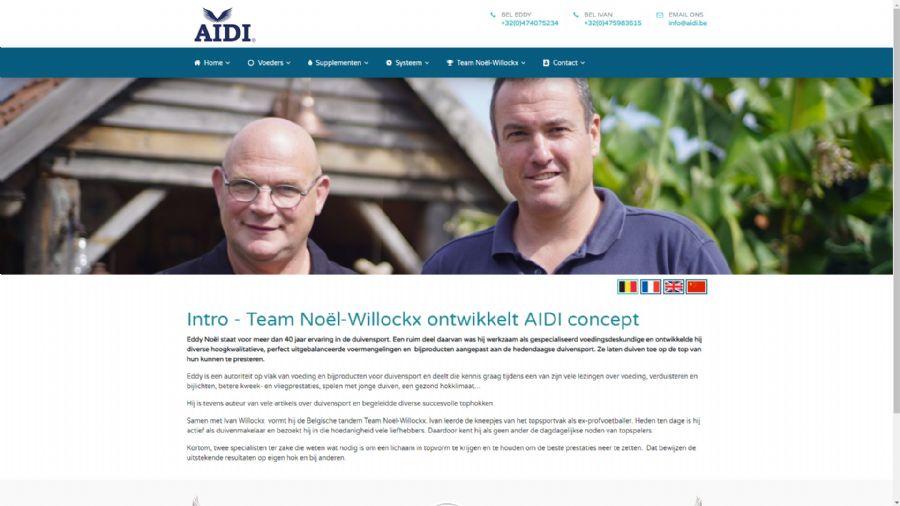 Aidi voeders en supplementen
