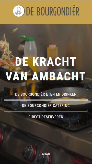 De Bourgondiër eten & drinken