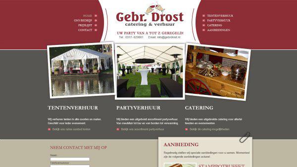 Gebr. Drost - Catering & Verhuur