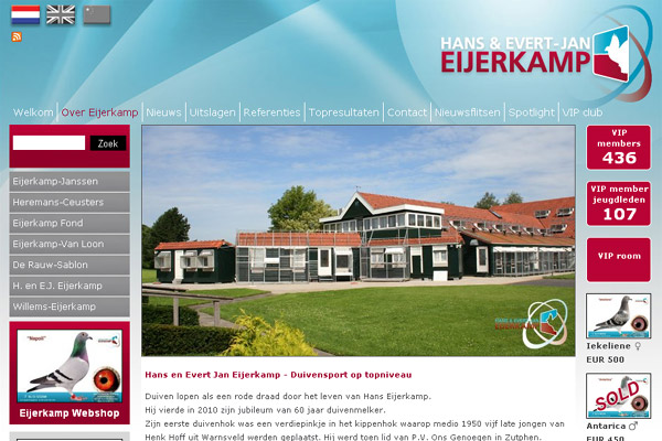 Websites Hans & Evert-Jan Eijerkamp (Brummen)