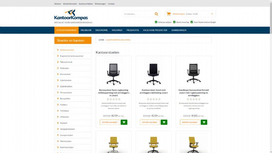 Website KantoorKompas
