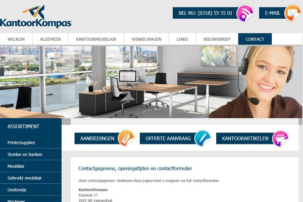 Website KantoorKompas (Veenendaal)